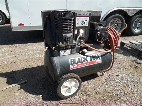 sanborn black max portable air compressor item be9939 so