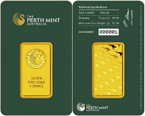 Perangko Australia Mint 4 Pcs special offer perth mint gold bars 1oz at 4 5pc premium goldcore news