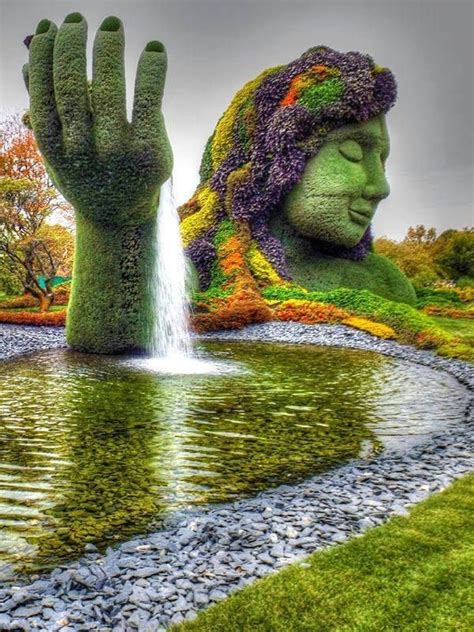 Montreal Botanic Garden Montreal Botanical Garden Canada Beautiful World