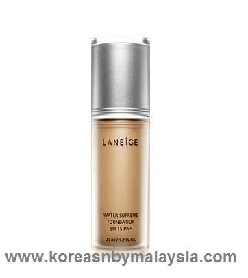 Laneige Water Supreme Foundation laneige water supreme foundation korean makeup malaysia