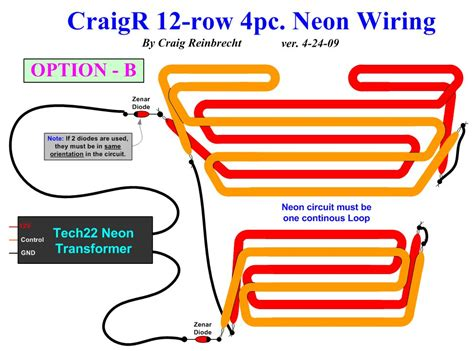 neon light wiring diagram free wiring diagrams