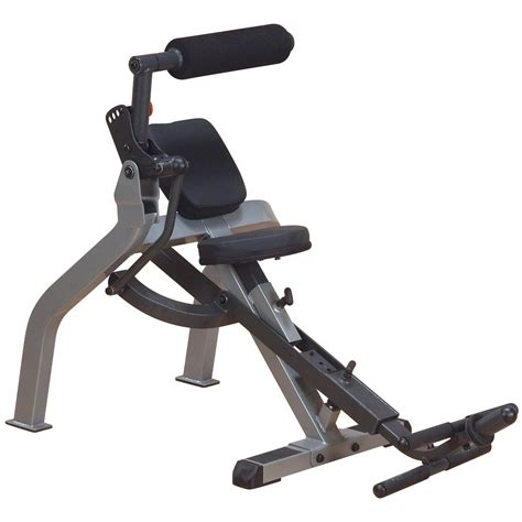 ab bench body solid 174 semi recumbant dual ab bench 219913 at