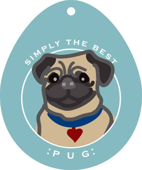 pug stickers pug sticker 4 215 4 fawn