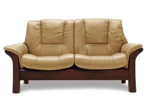 low back reclining sofa stressless by ekornes stressless buckingham low back