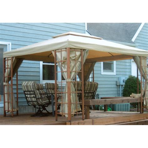 pacific casual gazebo menards pacific casual 5lgz4393 ccur gazebo canopy
