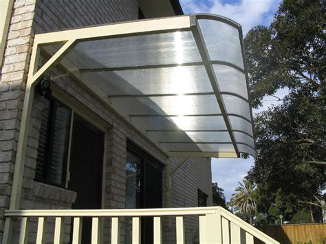 Polycarbonate Awnings by Polycarbonate Cantilever Awnings Blind Elegance
