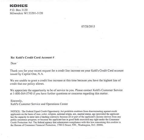Letter Credit Forum Got My Kohl S Letter Myfico 174 Forums 4164664