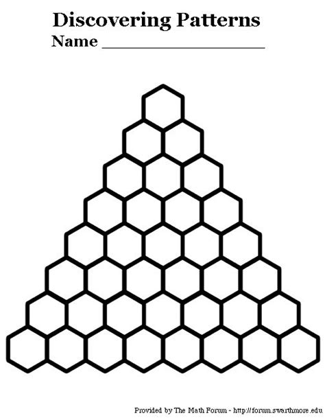 Pascal S Triangle Worksheet