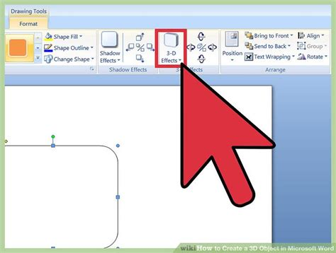 microsoft drawing 3 ways to create a 3d object in microsoft word wikihow