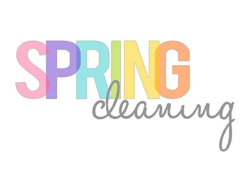 spring clean spring cleaning it s not just for your house life lattes