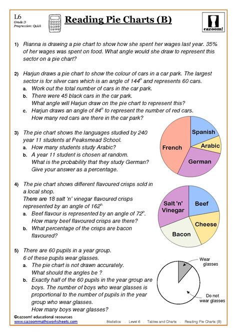 printable worksheets ks3 maths statistics maths worksheets ks3 idee 235 n voor het huis