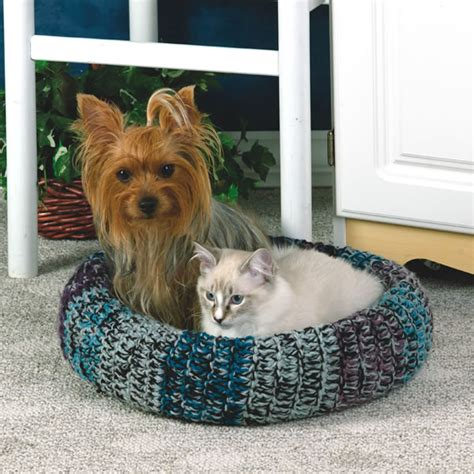free crochet pattern cat bed crochet pattern pet bed free patterns for crochet