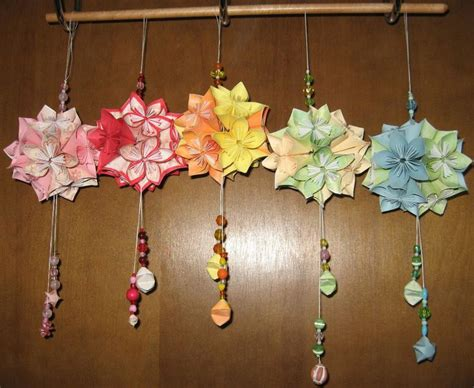 How To Make Origami Kusudama Flowers - 77 best kusudama flowers images on crafts diy