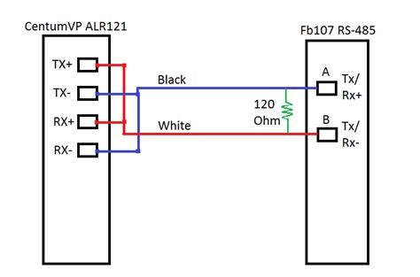 2 wire rs485 wiring diagram 2wire modbus 485 wiring free