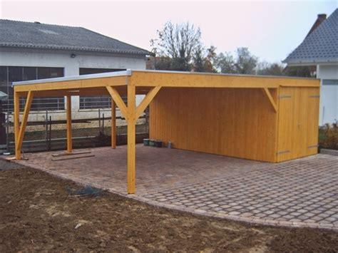 Garage Carport Holz by Holzbau Grupe Carports Garagen