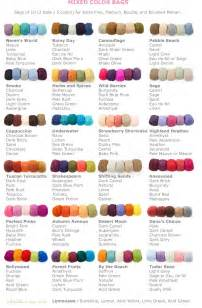 i this yarn color chart i this yarn color chart best 20 color names ideas