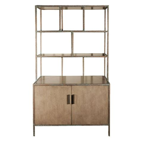 paul marra bookcase in faux bronze for sale at 1stdibs