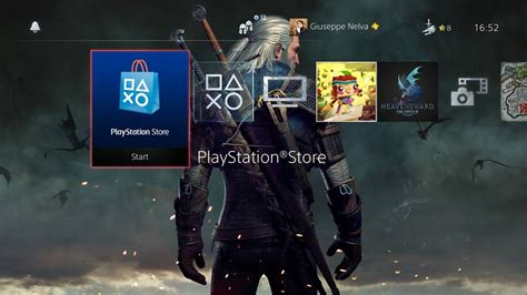 ps4 themes uk store free and awesome the witcher 3 ps4 theme released on