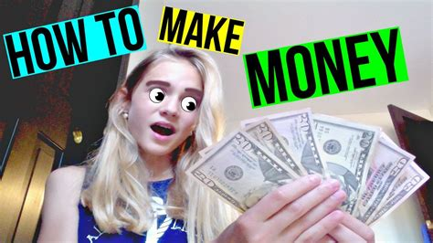 How To Make Money Fast As A Teenager Online - how to make money fast as a teen youtube