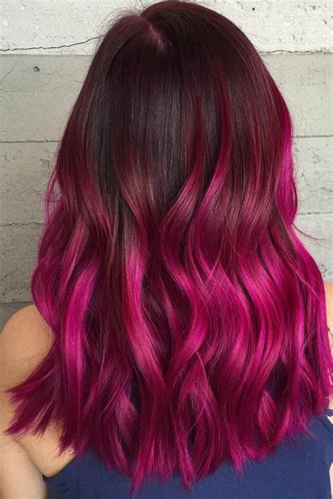 red plum hair 3 on pinterest 89 pins magenta ombre hair color www pixshark com images