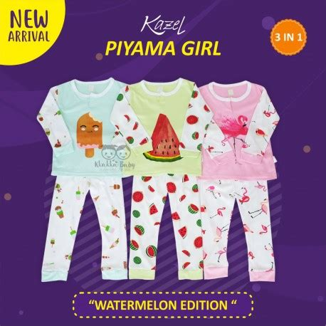 kazel piyama watermelon edition kkakka