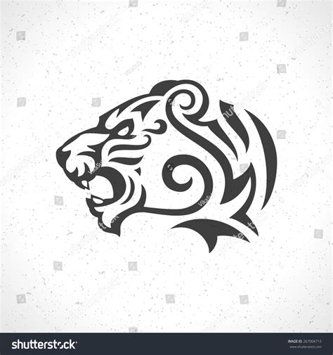 stock vector tiger pictures to pin on pinterest tattooskid