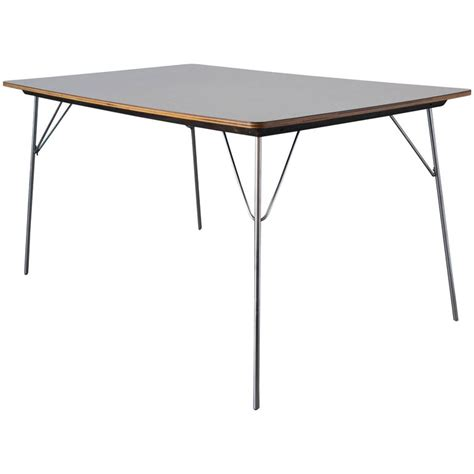 Charles Eames Dining Table Charles And Eames Dtm 1 Dining Table For Herman Miller For Sale At 1stdibs