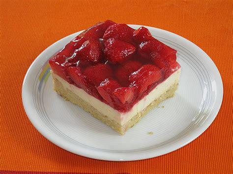 quark erdbeer kuchen erdbeerkuchen rezepte chefkoch de