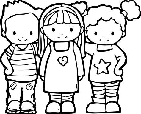 coloring pages jpg best friends color coloring pages wecoloringpage