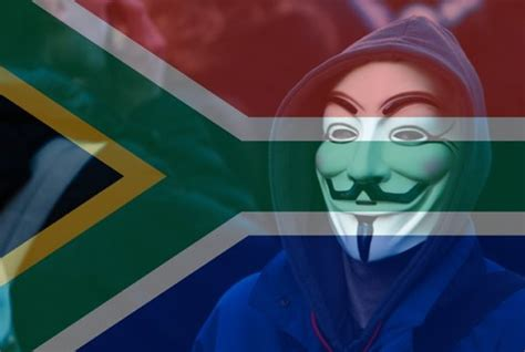 anonymous africa the hackers who are taking on south anonymous hacks sa government database