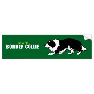 Border Collie Stickers For Cars