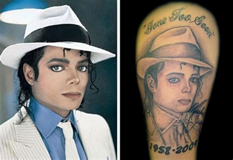 mike diamond tattoo ny ink michael jackson tattoos by fans around the world