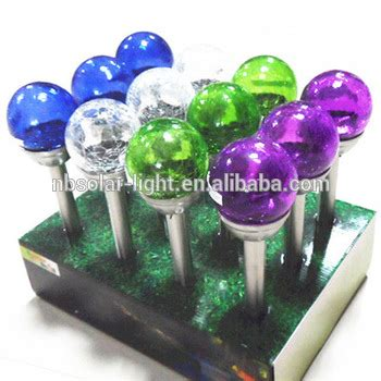 multi colored solar garden lights glass stake solar light multi colored solar garden