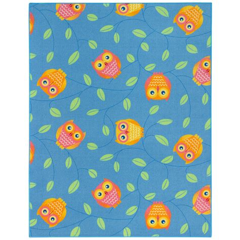 Owl Rug Carpet Fellow Happy Owls Playmat Not Just For Kids Owl Rugs For