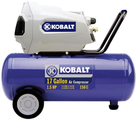 kobalt 17 gallon 1 5hp compressor review