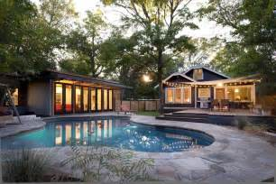 Cottage Kitchen Backsplash Ideas outdoor string lights pool modern with backyard bungalow