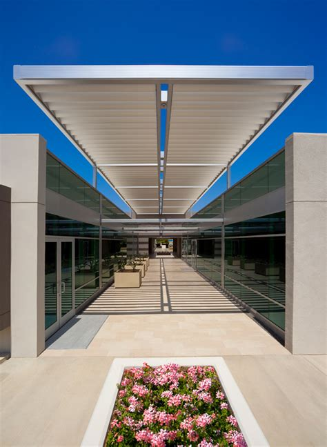 Exterior Canopy Jetson Green Industrial Building Gets An
