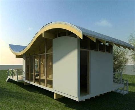 jetson green modern passive solar cascade house jetson green wavy solar integrated studio house