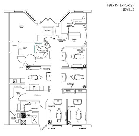 floor plan of dental clinic dental office floor plan design