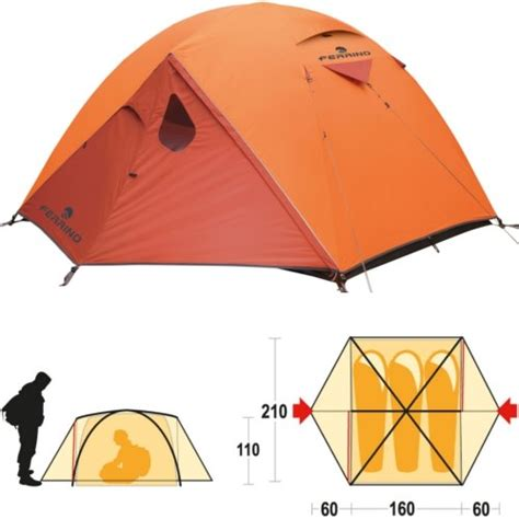 tenda 4 stagioni ferrino lhotse 3 99071 tenda 3 posti trekking 4 stagioni