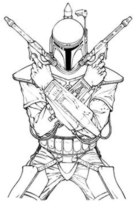 Learn How To Draw Star Wars Characters With Our Series Of Special Tutorials This Time Is Time Boba Fett Coloring Pages Printable