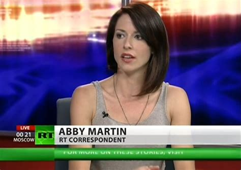 abby martin threatened with and journalists