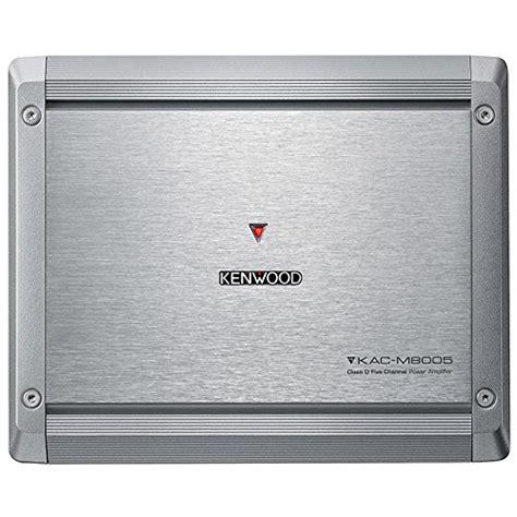Kenwood Power Lifier Kac X5d 5 Ch Class D kenwood kac m8005 class d 5 channel marine power lifier ebay