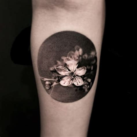 black and grey flower tattoo designs black and grey flower best ideas gallery