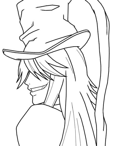 black butler free coloring pages