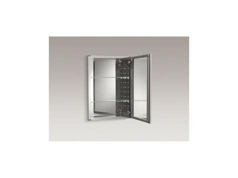 kohler aluminum frame medicine cabinets faucet com k cb clw2026ss in silver aluminum by kohler