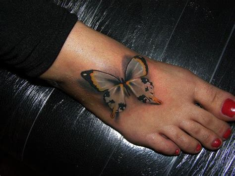 butterfly tattoo on foot 12 butterfly foot tattoos