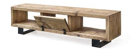 mobili porta tv legno porta tv in legno massello di recupero made in italy