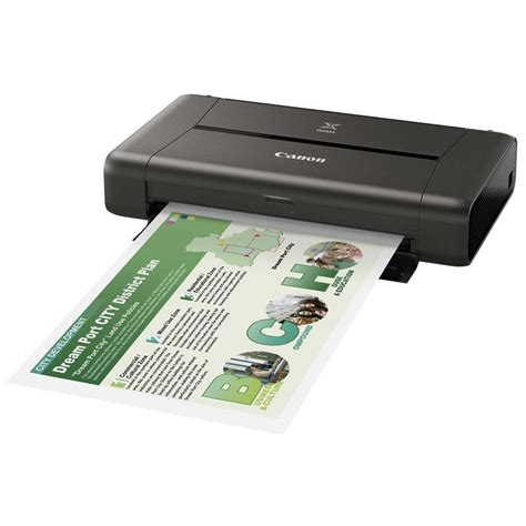 Printer Canon Ukuran A4 canon pixma ip110 portable a4 photo printer park cameras