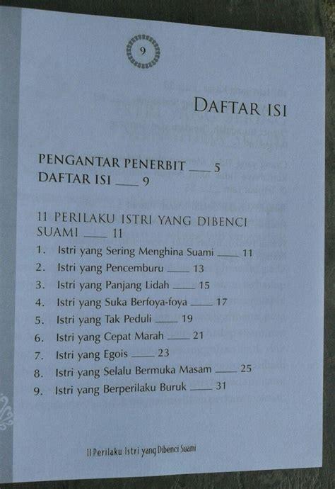 Buku Jangan Zalimi Suami buku 11 perilaku istri yang dibenci suami toko muslim title